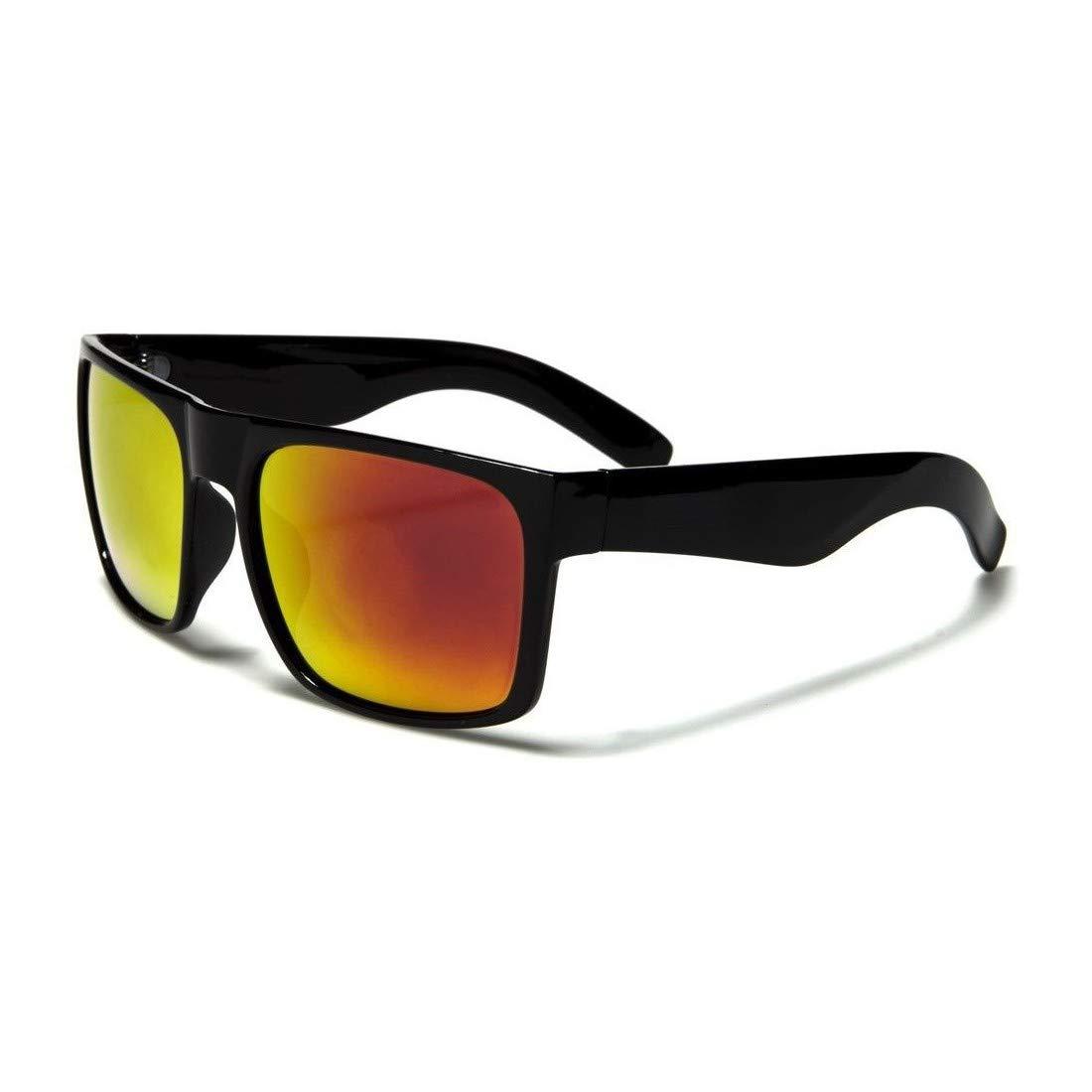 Black Square Frame Mens Fashion Sunglasses