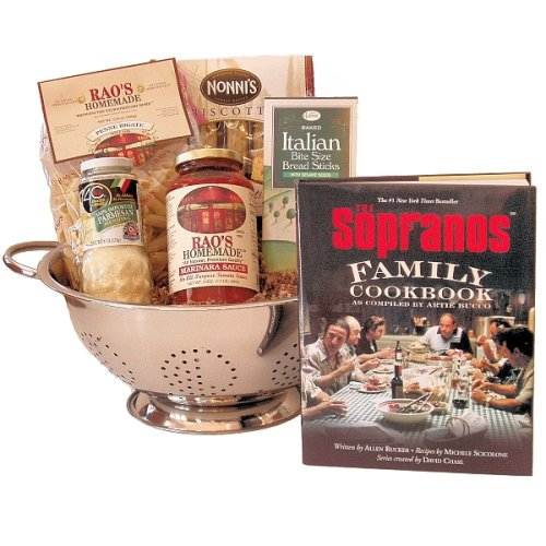 Click for larger image of 'Family Supper' Italian Pasta Dinner Gift Basket