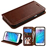 Customerfirst - Samsung Galaxy J1 J100H Case - BookFold Credit Card Wallet Style