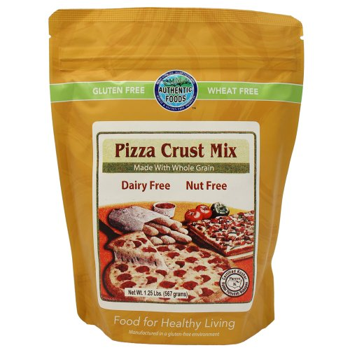 Authentic Foods Gluten Free Pizza Crust Mix, 10.5 Ounce (298 - Pizza Yeast Free