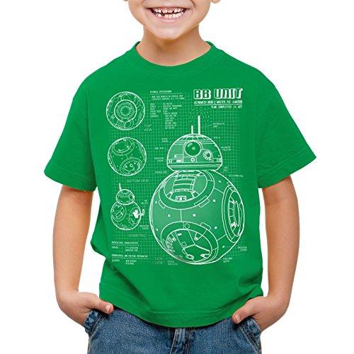 Camiseta os Unit Bb para ni Hormiga Green fZOqwqA