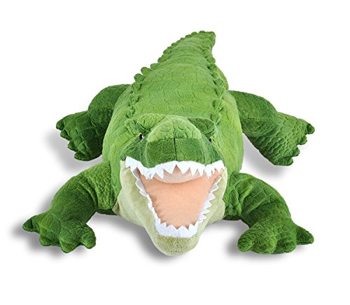 518XBKmmDqL - Wild Republic Green Alligator Plush, Stuffed Animal, Plush Toy, Gifts For Kids, Cuddlekins, 23""