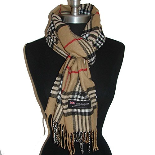us-sellercamel-new-scarf-made-in-scotlandsm03-women-men-girl-boy