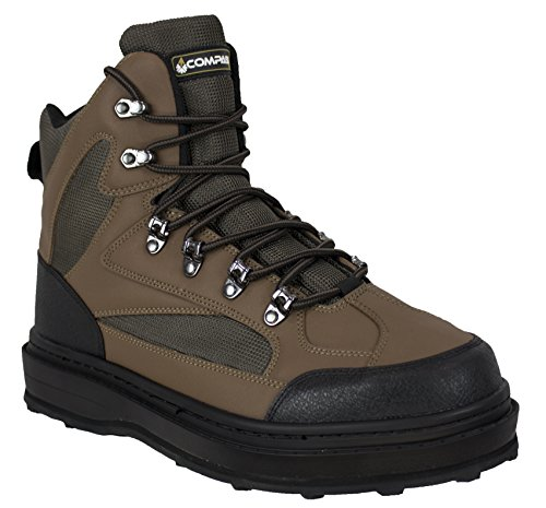 COMPASS 360 Ledges Cleated Sole Wading Shoes (12)
