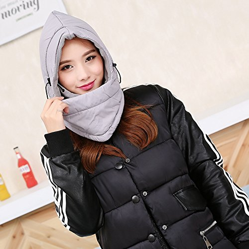 2017 New Winter Warm Fleece Beanies Hats For Men&Women Waterproof Skull Bandana Neck Warmer Balaclava Snowboard Face Mask Sports Scarf (Carhartt Leather Waterproof Glove)
