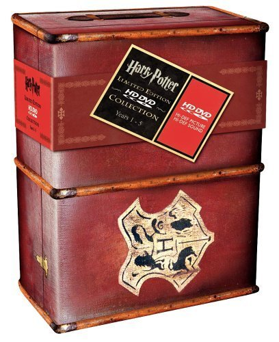 Harry Potter Years 1-5 Limited Edition Gift Set HD DVD by Daniel ...