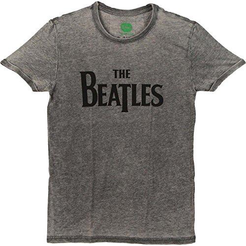 mediana Camiseta Off T Drop desgastada Trade gris Rock Rockoff de para hombre 00POBU
