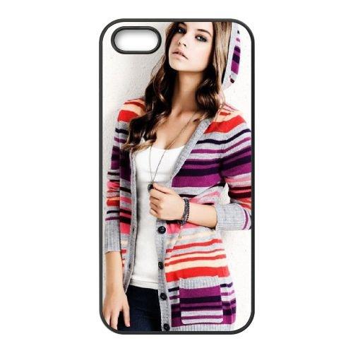 Barbara Palvin 04 coque iPhone 4 4S cellulaire cas coque de téléphone cas téléphone cellulaire noir couvercle EEEXLKNBC23325