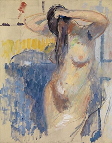 High Quality Polyster Canvas ,the Replica Art DecorativeCanvas Prints Of Oil Painting 'Rik Wouters - Nude Study, 20th Century', 24x31 Inch / 61x78 Cm Is Best For Study Decor And Home Decor And Gifts