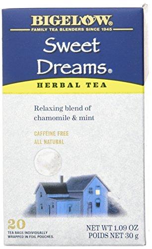 Bigelow Tea Sweet Dreams Herbal Tea, 0.1 Pound Mild Sweet Tea