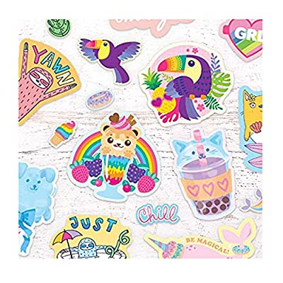 OOLY, Beary Sweet Scented Stickers - 2 Sticker Sheets + 8 Jumbo Stickers