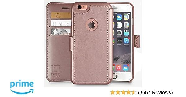 47ffa589fb Amazon.com  iPhone 6S Wallet Case