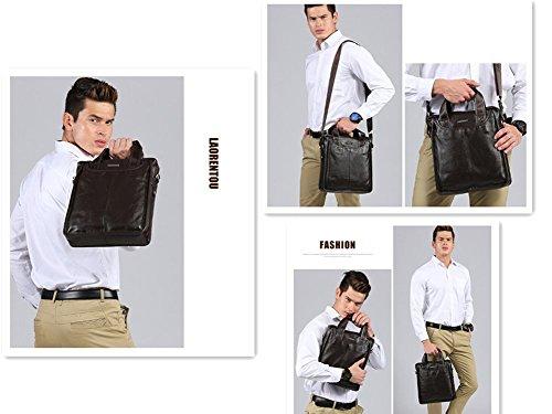 Business New Shoulder black Single Bag Zxh Bag Leather Leisure Handbag Messenger Man's Fgwf8fWqH