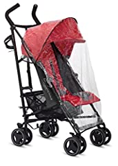 Keep your baby dry and warm with this Inglesina rain cover. Made to fit over your Net stroller perfectly, it features a clear and breathable design.