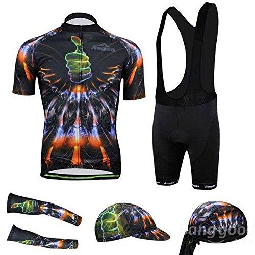 Mark8shop 3D Radfahren Kleidung Sportbekleidung Fahrrad Anzug