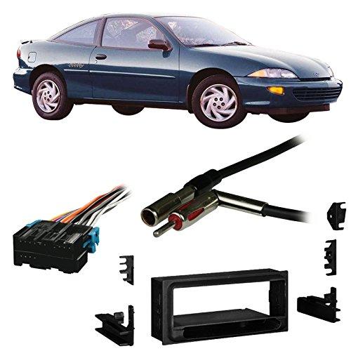 Fits Chevy Cavalier 1995-1999 Single DIN Harness Radio Install Dash Kit