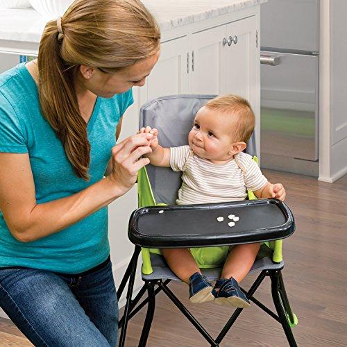 Summer Infant Pop 'N Sit Portable High Chair, Lime