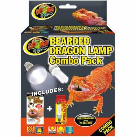- Zoo Med Bearded Dragon Lamp Combo Pack