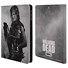 Official AMC The Walking Dead Daryl Double Exposure Leather Book Wallet Case Cover For Apple iPad mini 1 / 2 / 3