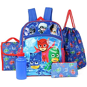 PJ Masks Backpack 5-Piece Set
