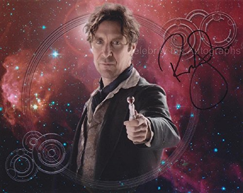 PAUL McGANN as The 8th Doctor - Doctor Who GENUINE AUTOGRAPH