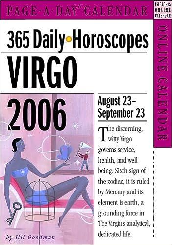 365 Daily Horoscopes Virgo 2006: Jill Goodman: 9780761137436: Amazon