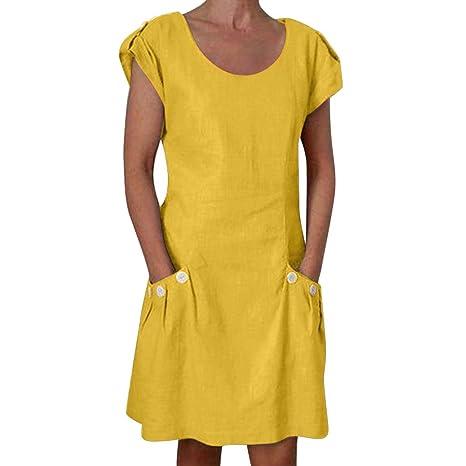bdea8829cb0 Bluestercool Robes Femme Été Grande Taille