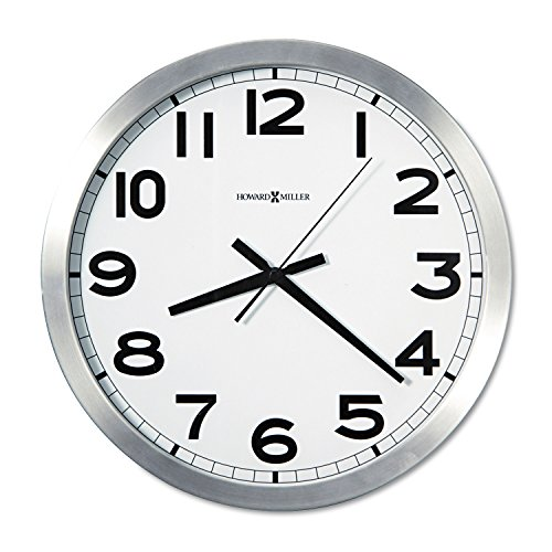 Bath Aluminum Wall Clock - Howard Miller 625450 Wall Clock