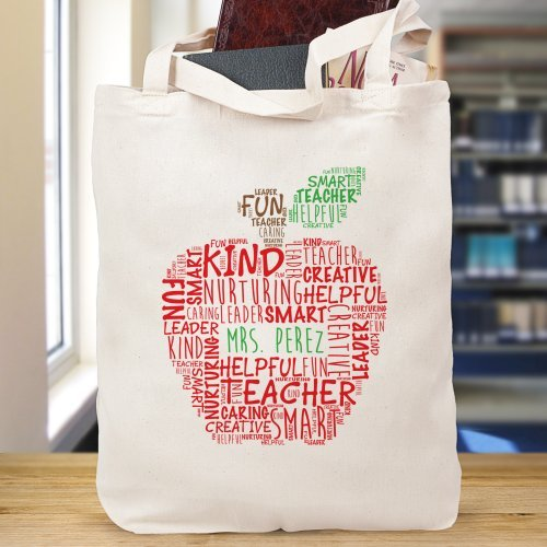 Teacher Tote Bag, 16