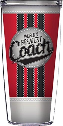 World's Greatest Coach Traveler 16 Oz Tumbler Cup