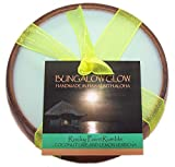 Hawaii Bubble Shack Monkeypod Wood Candle Rocky Point Rumble Coconut & Lime Scented