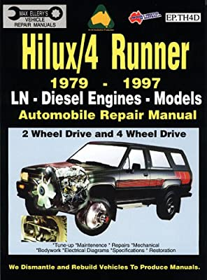 Toyota Hilux / 4 Runner 1979-1997 Diesel Engine (EP TH4D