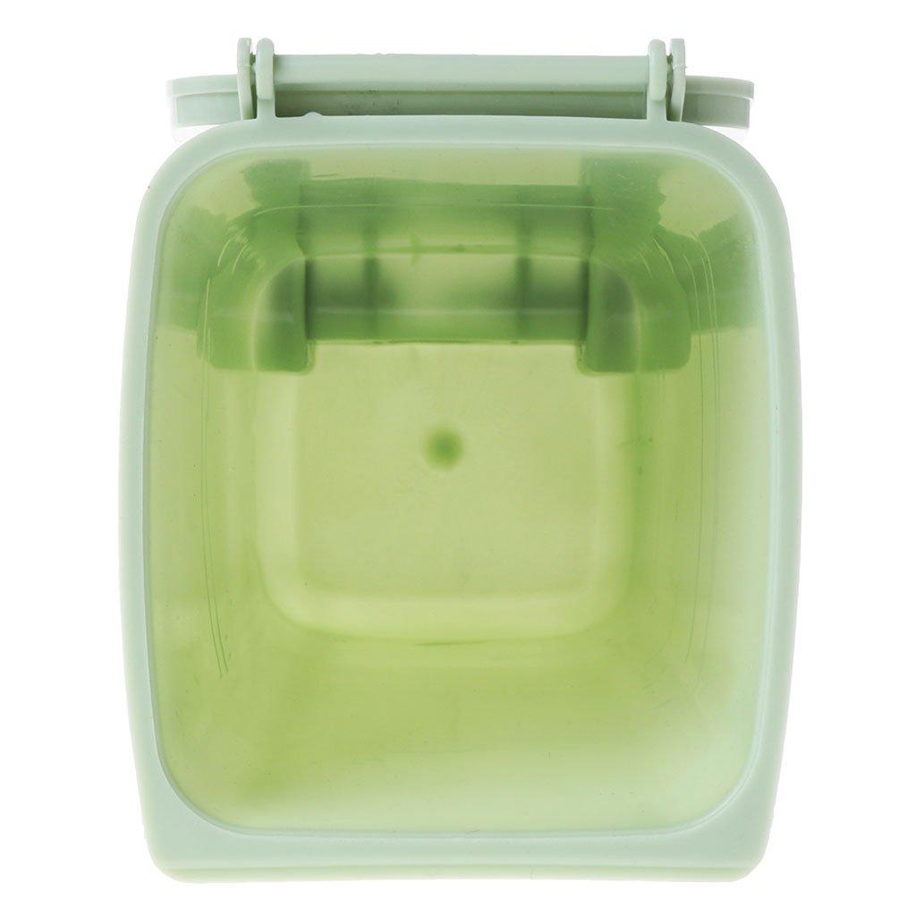 Llwei Mini Wheelie Trash Can Pen Holder Storage Bin Desktop Organizer Garbage Bucket