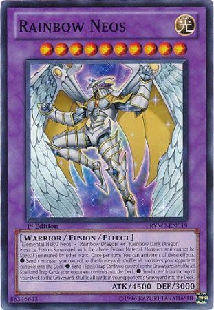 Yu-Gi-Oh! - Rainbow Neos (RYMP-EN019) - Ra Yellow Mega-Pack - 1st Edition - Common