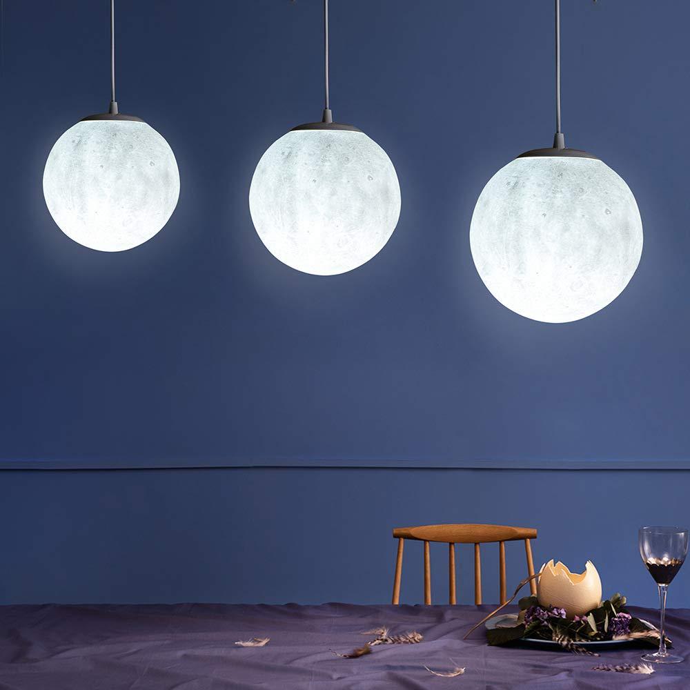 LIGHTINTHEBOX-LIGHT Lustre Lune /étoiles pour Chambre denfant Lustre Suspendus Plafonnier /à Domicile avec lumi/ère Douce