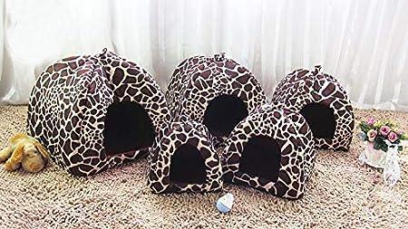 thematys Colchoneta Material de Felpa Cama de Almohada Lavable y Resistente a los ara/ñazos para Perros y Gatos XL, Azul