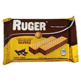 Ruger Wafers Austrian Wafers, Chocolate, 2.125
