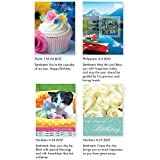 Pack of 12 Religious Birthday Cards, Boxed