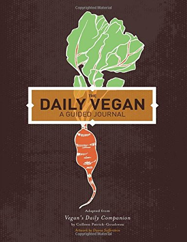 Daily Vegan Journal Companion Patrick Goudreau product image