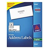 Avery 5363 Copier Label, Mailing, 1-3/8-Inch