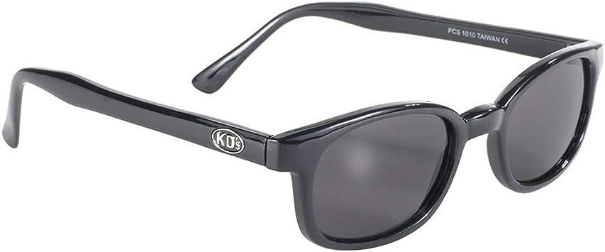 X-KD/'s Black Frame Polarized Lens Sunglasses XKD Motorcycle Riding Glasses