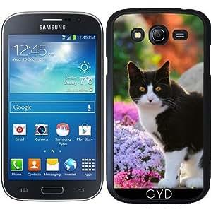 Funda para Samsung Galaxy Grand i9082 - Gato Del Smoking En Un Jardín De Flores by Katho Menden