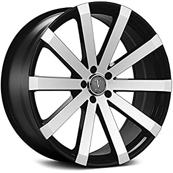 Amazon Com 26 Inch Velocity Vw12 Wheels Rims Tire Package Black