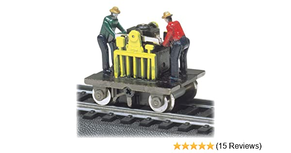 Bachmann Trains Operating Gandy Dancer Assorted Colors