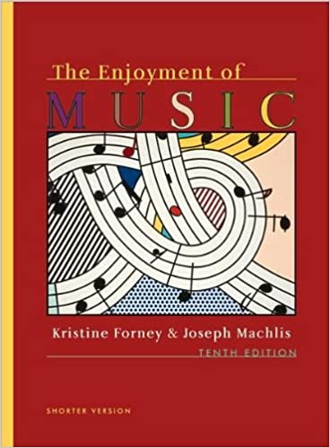 The Enjoyment Of Music 10th Edition Shorter Version J K