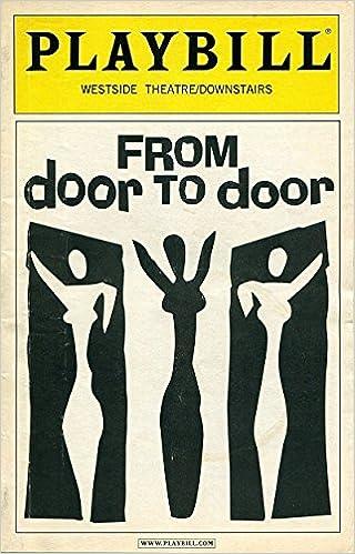 Charmant PLAYBILL: From Door To Door, Westside Theatre: Playbill Magazine:  Amazon.com: Books