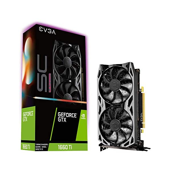 EVGA-06G-P4-1667-KR-GeForce-GTX-1660-Ti-SC-Ultra-Gaming-6GB-GDDR6-Dual-Fan