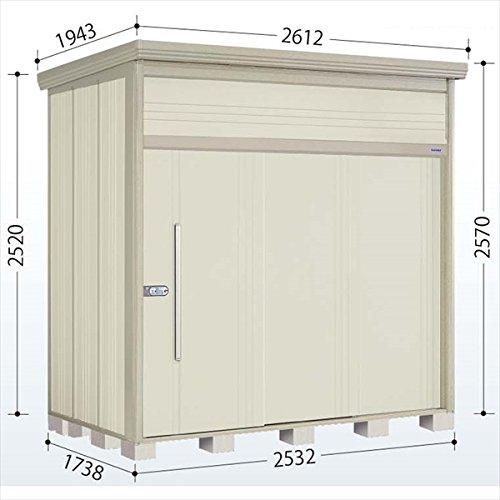 タクボ物置 JN/トールマン JN-Z2517 一般型 結露減少屋根 『屋外用中型大型物置』 ムーンホワイト B00UV4Y00G