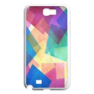 C-Y-F-CASE DIY Design Colourful World Pattern Phone Case For Samsung Galaxy Note 2 N7100