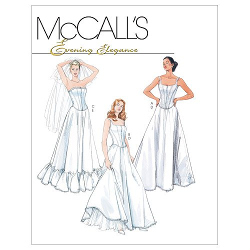 McCall's Patterns M4109 Misses'/Miss' Petite Lined Tops and Petticoats, Size BB (8-10-12-14)